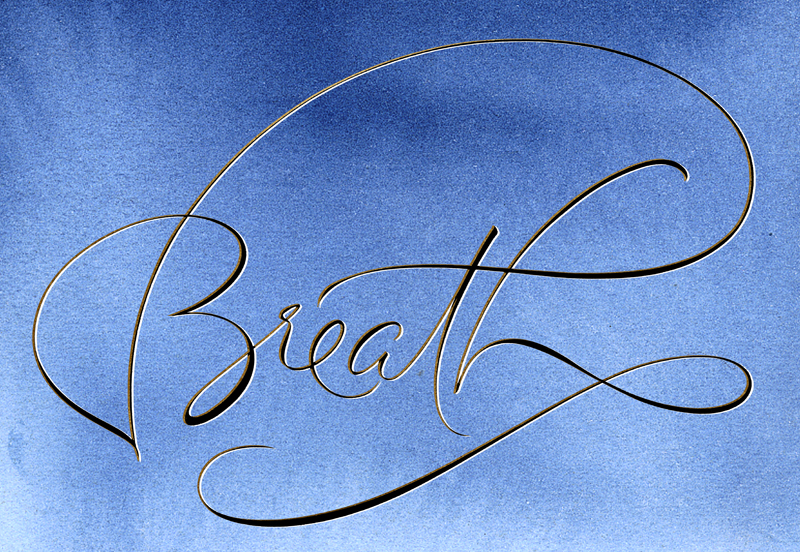 BreathCalligraphyWithLight