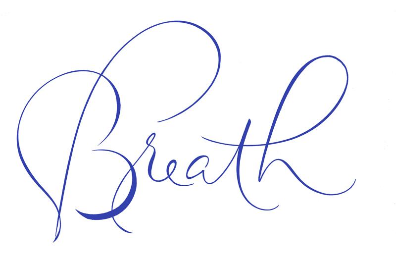 BreathBrushCalligraphy