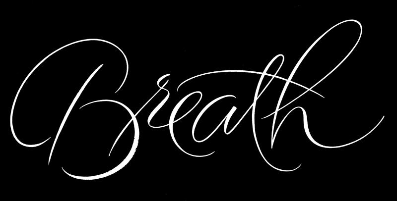 LooseCalligraphyBreathReversed
