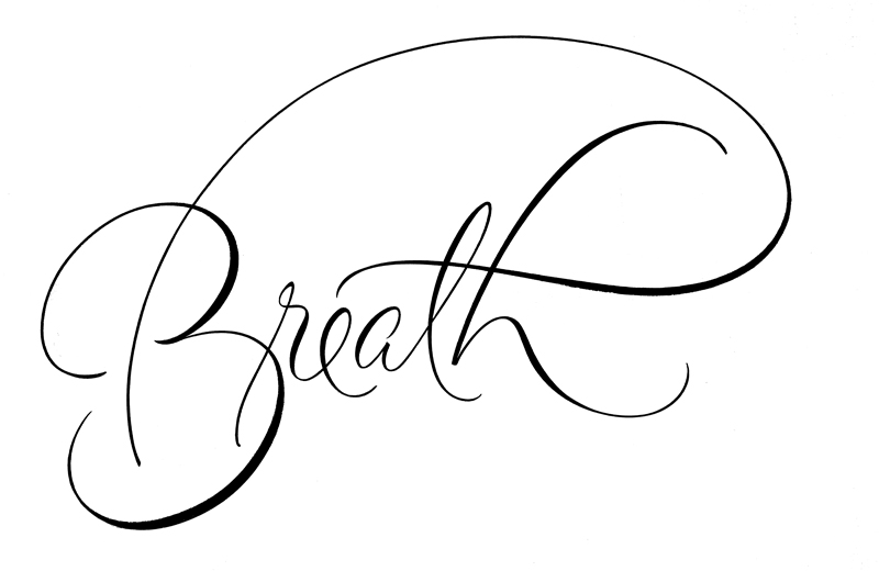 BreathScriptCalligraphy