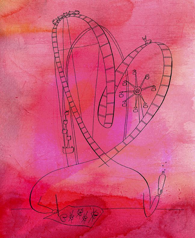 Pen&InkValentineOnWatercolor