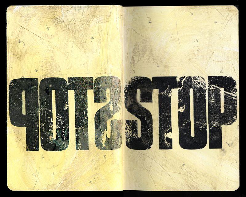 STOPSTOP Typography experiments