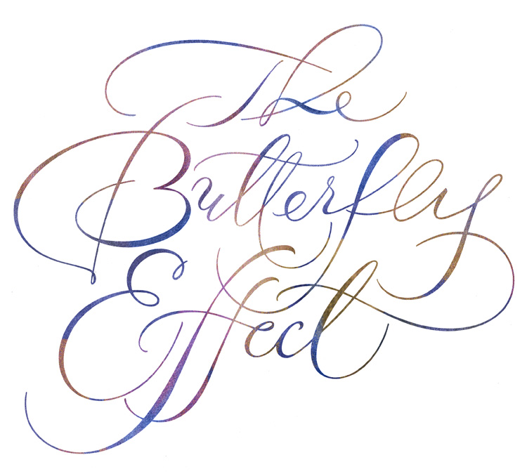 ButterflyModernSpencerianScript