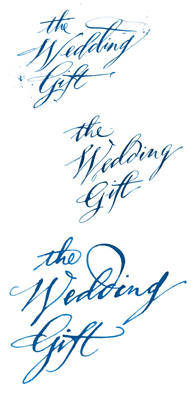 Old-StyleQuillCalligraphy
