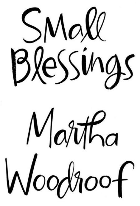 Hand-lettered brush script