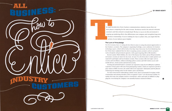 Lettering-Design-in-Magazine-Spread