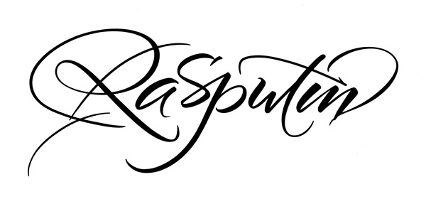 Brush-Calligraphy_Rasputin