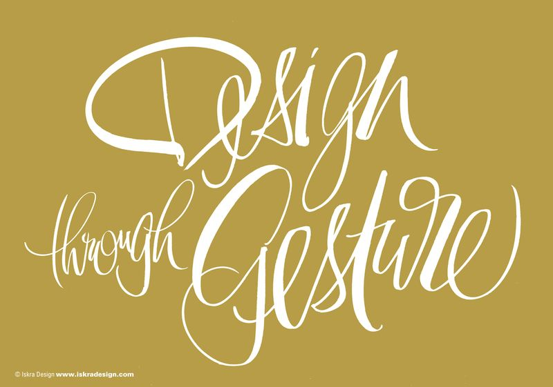 Design_Through_Gesture_Iskra_calligraphy